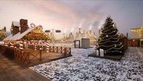Окунись в магию, не выезжая из Киева: где в столице откроют грандиозную зимнюю локацию с катком в стиле Гарри Поттера