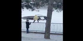 В Киеве под лед ушла пара с собакой, в Одессе – дети: что делать в таких ситуациях
