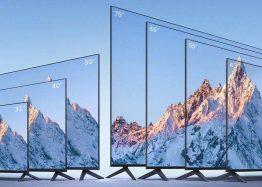 Xiaomi анонсировала серию смарт-телевизоров Mi TV EA 2022: семь размеров, металлические корпуса и ценник от $153 до $766