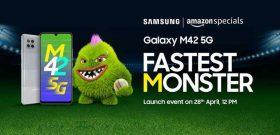 Официально: Samsung представит бюджетник Galaxy M42 5G с чипом Snapdragon 750G в конце апреля
